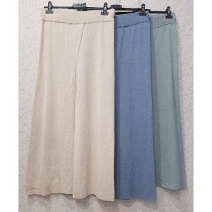 pantalón culotte punto
