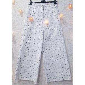 Pantalón culotte flores