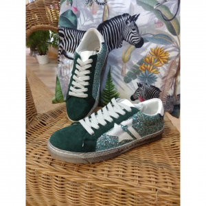 Zapatilla deportiva verde